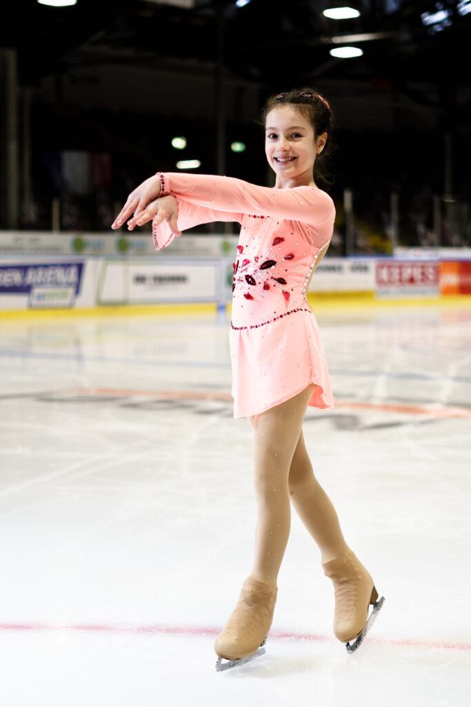 Antoniella Schwengler von der Eis Sport Gemeinschaft Freiburg
